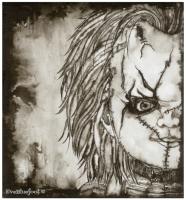 """""""Chucky"""" - 8.2""""x9"""""""