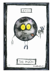 """The Moon"" - 4.1""x6.1"""
